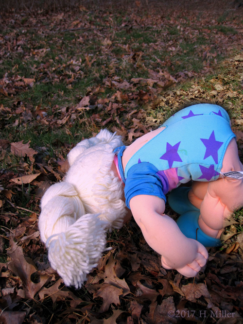Cabbage Patch Kid Tumbling.