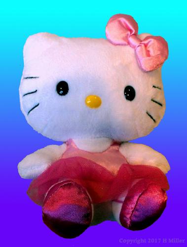 Hello Kitty In Gymnastics Leotards.